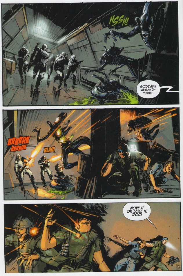 Aliens: Colonial Marines Dark Horse Comic Preview - AvPGalaxy